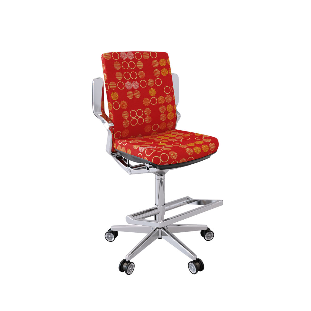 Nightingale NLC Chair w/Footring Front View